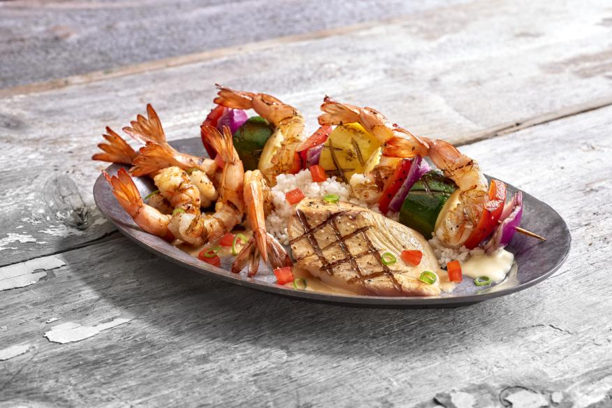 Grilled Seafood Trio