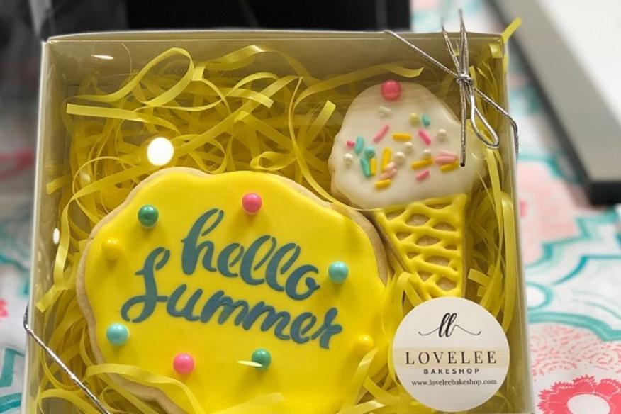 Hello Summer Cookies