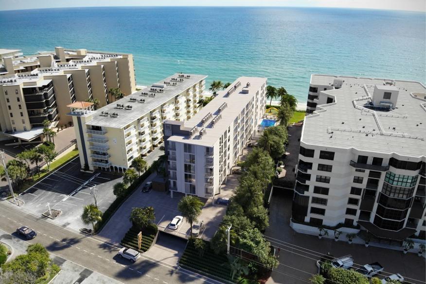 Hillsboro Beach Resort Aerial View