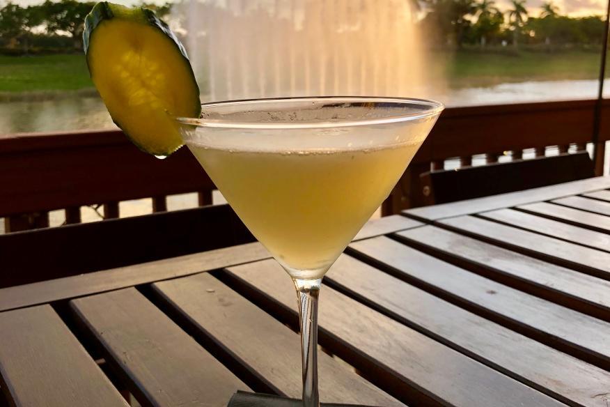 Déjà Blue Restaurants - Cocktails on the water
