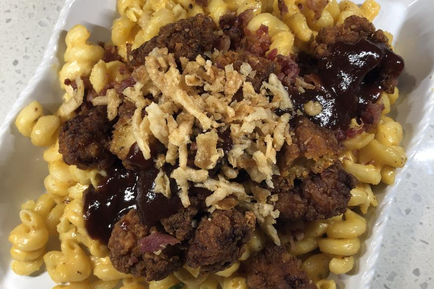 BBQ Chicken Mac n Cheese