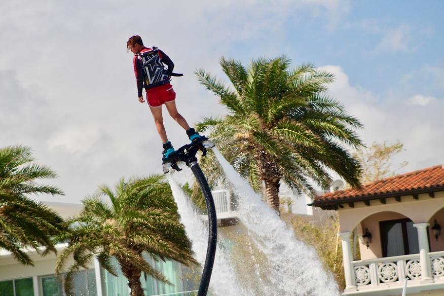 Flyboard guy
