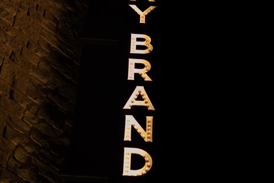 Lucky Brand Sign