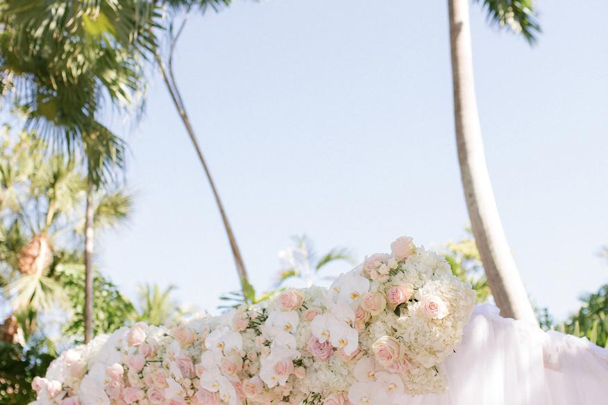 Wedding in the Gardens Flower Details