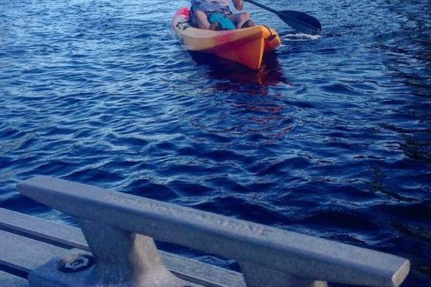 Incoming Kayaks