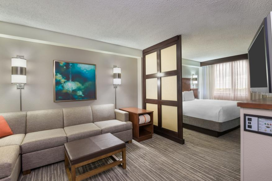 Hyatt Place Plantation King Bed Room with Sofa Bed