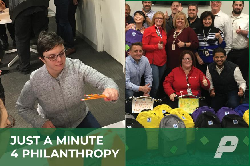 Just A MInute 4 Philanthropy