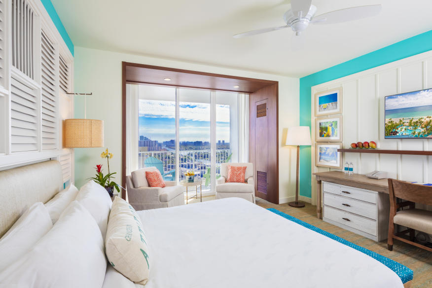 King Bedroom with Intracoastal View