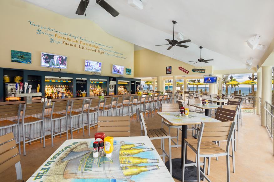 LandShark Bar & Grill - Pool vista bar connected to Beach Terrace Dining