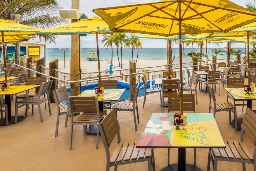 Landshark Bar & Grill - Beachside Dining Terrace - Overlooks Hollywood Beach & Concert Bandshell