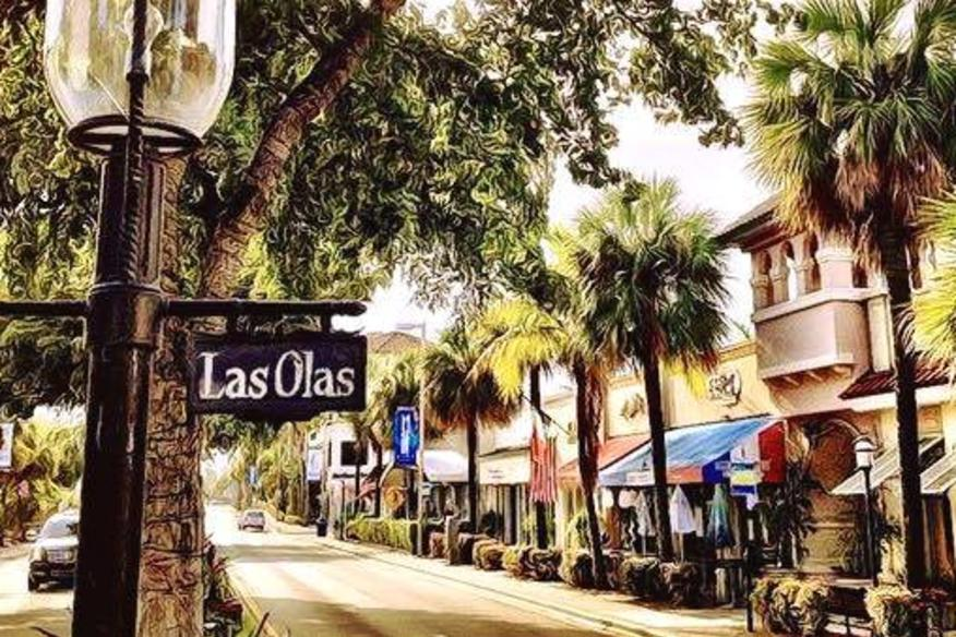Shopping and Dining on Las Olas