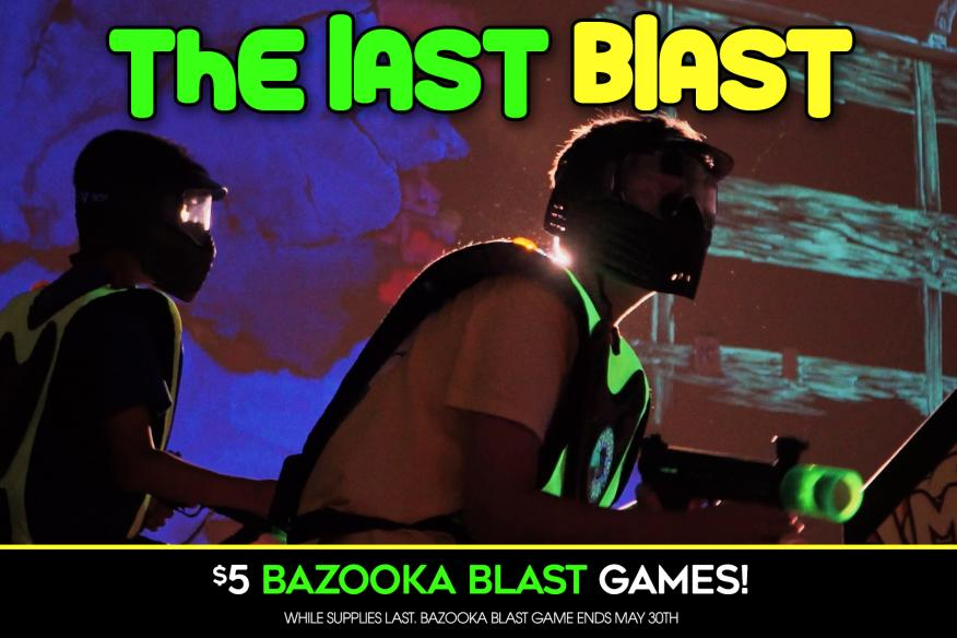 $5 Bazooka Blast Game | Laser Tag is Coming!