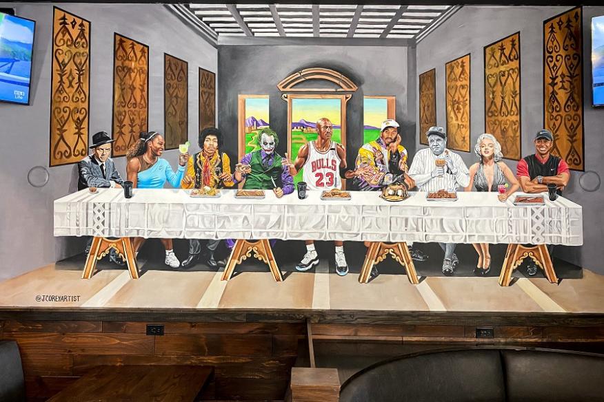 Legendary Supper Mural
