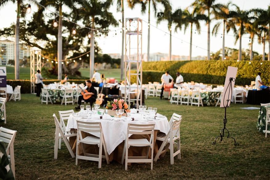 Lawn Reception