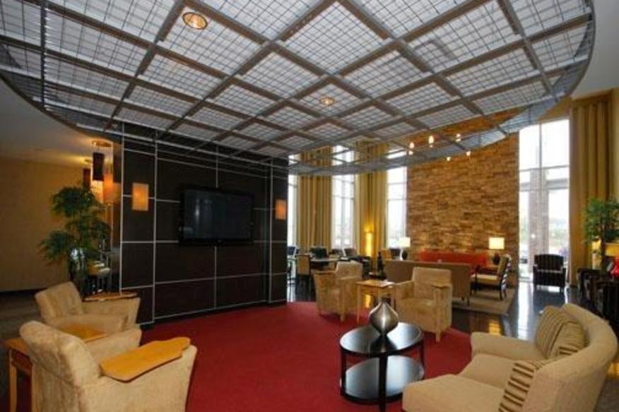 Cambria Suites lobby