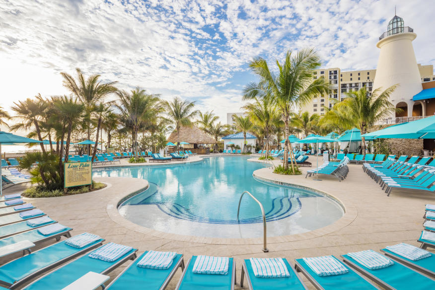 Margaritaville Hollywood Beach Resort - Lone Palm Pool - 1 of 3 at resort