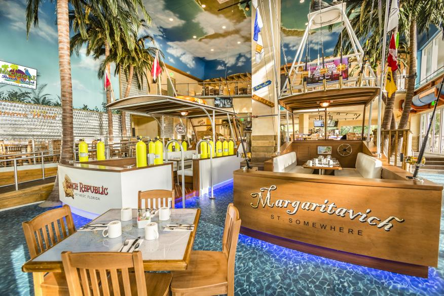 Margaritaville Restaurant - Dine out in one of our