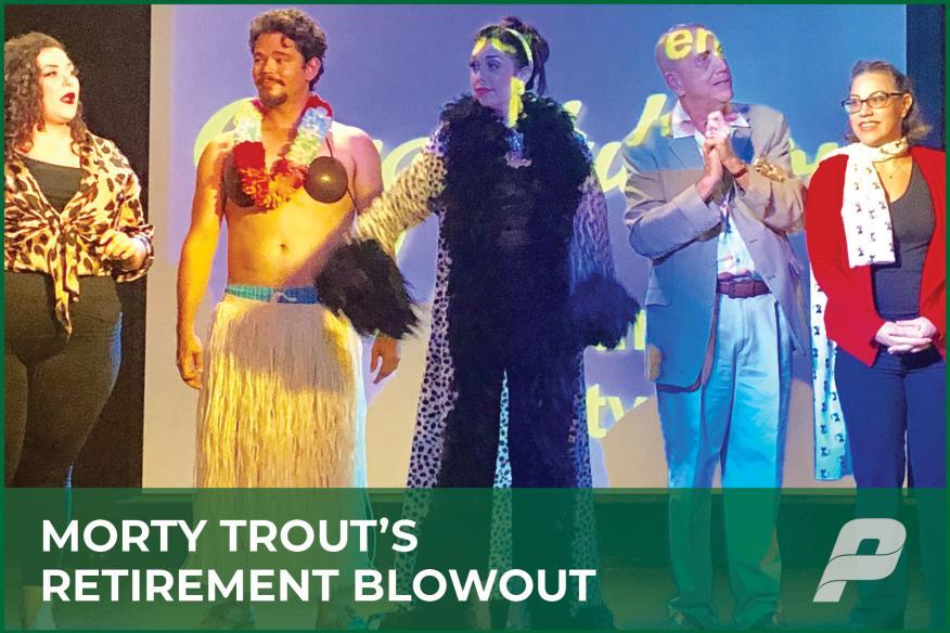 Morty Trout's Retirement Blowout