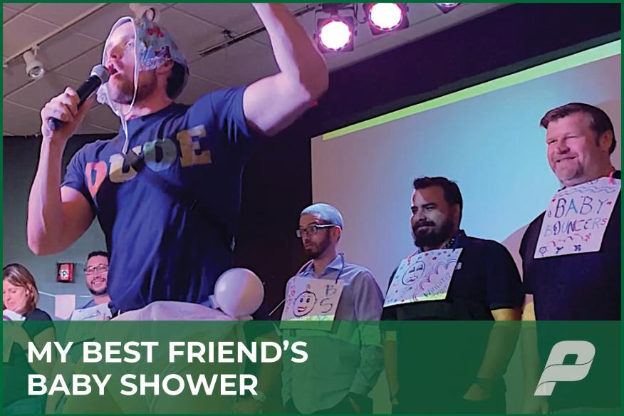 My Best Friend's Baby Shower