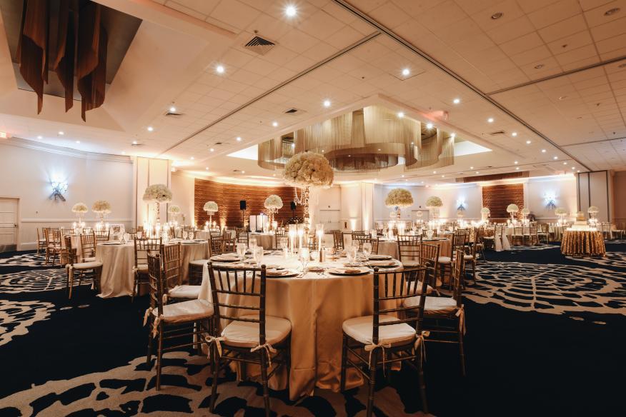 Wedding in Commodore Ballroom