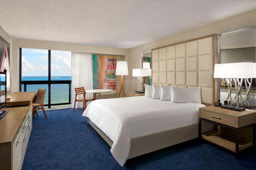 Ocean Front View Guestroom w/ King Bed