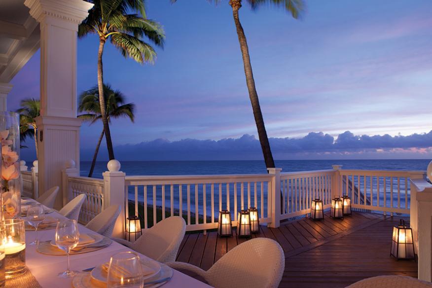 Oceanfront Verandah Dining