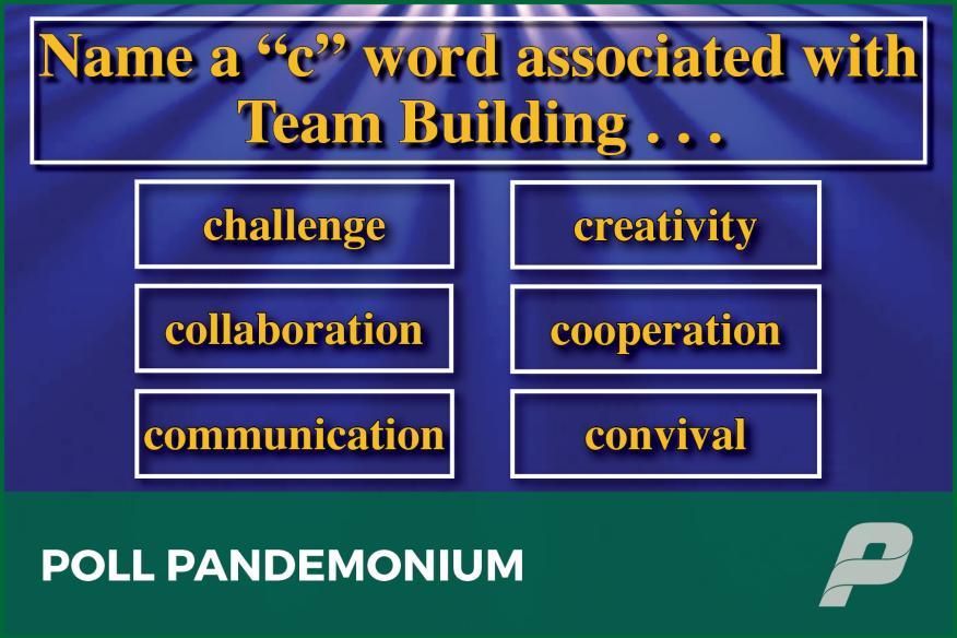 Game Show: Poll Pandemonium