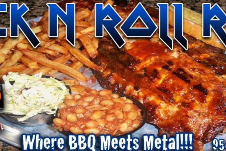 Rack of Ribs and Logo