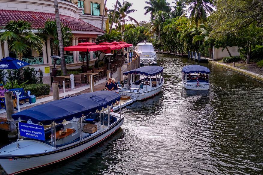 Riverfront Gondola Tours on Las Olas