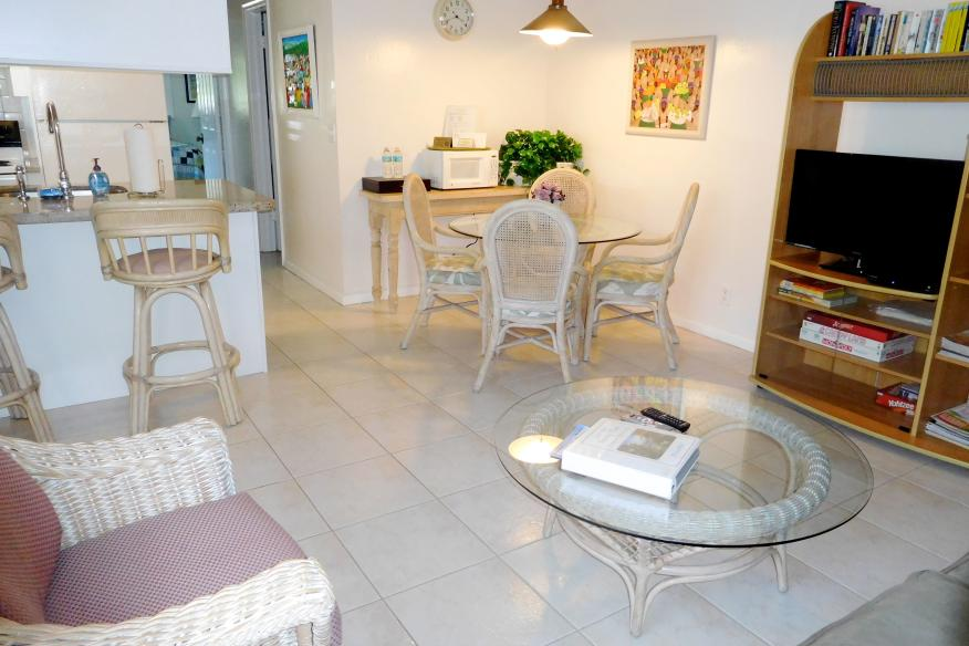 Standard 1/1 living area