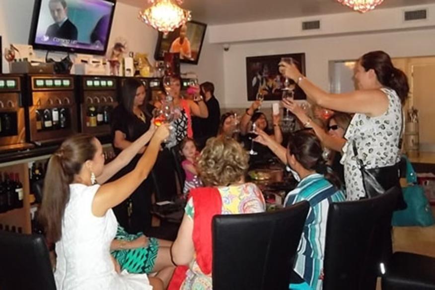 Las Olas Food Tour Wine Tasting