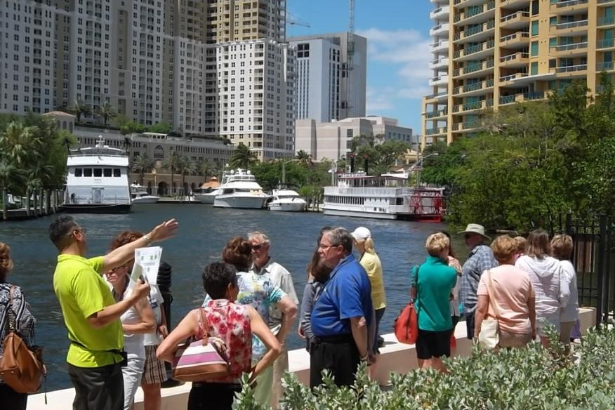 Learn about Fort Lauderdale's History by the New River
