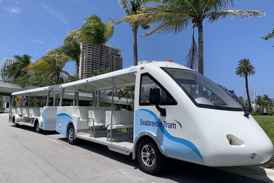Seabreeze Tram