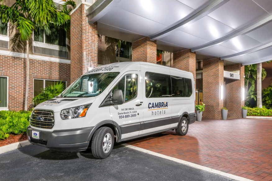 Complimentary Airport Shuttle