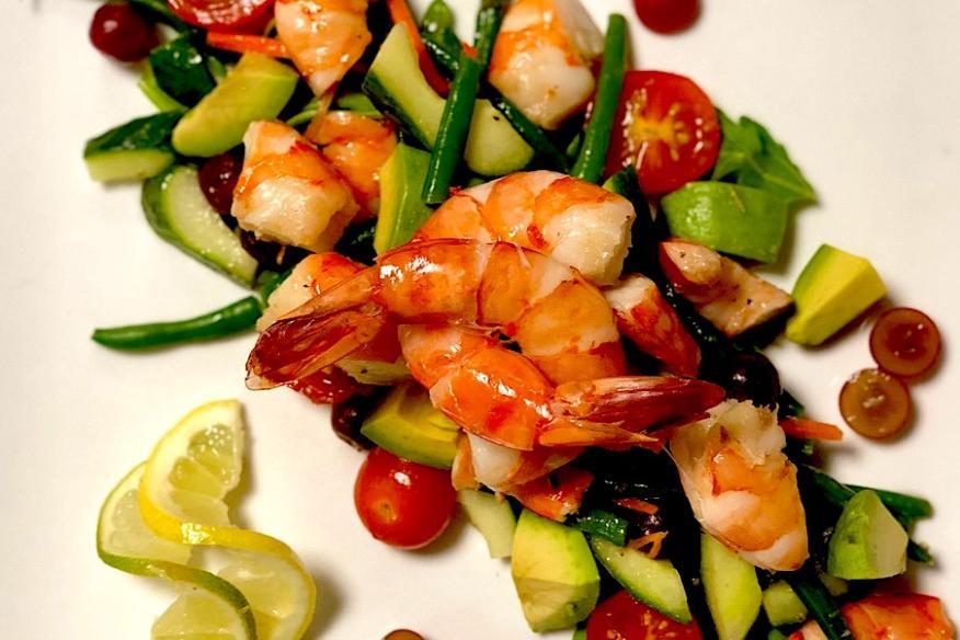Déjà Blue Restaurants - Shrimp Salad