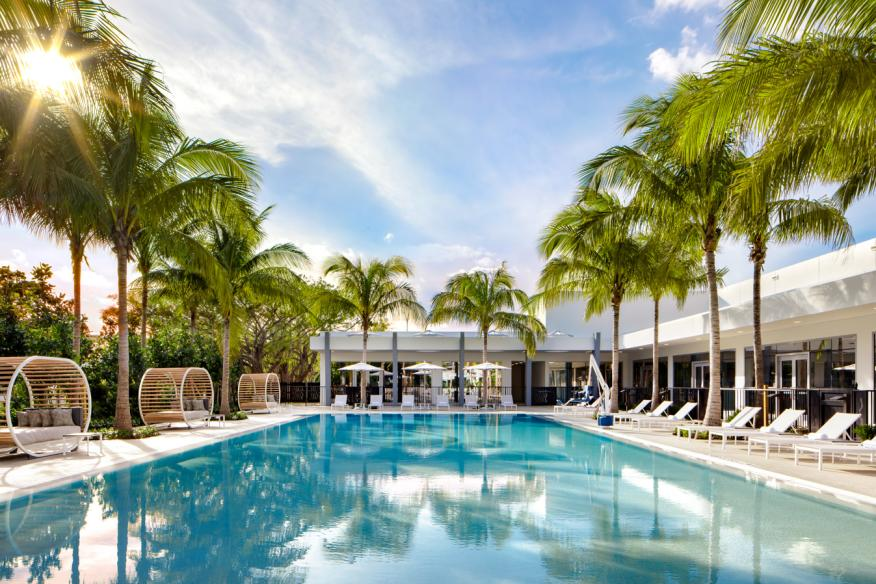 Pool at Le Meridien Dania Beach