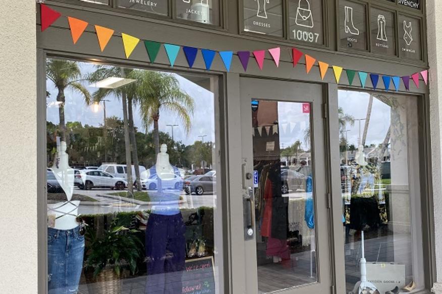 Storefront - The Closet Trading Company