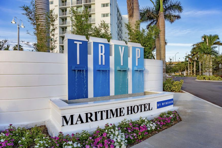 TRYP sign