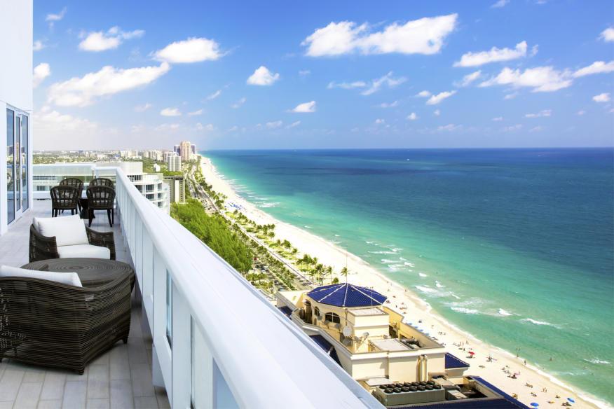 Penthouse Terrace at Conrad Fort Lauderdale Beach