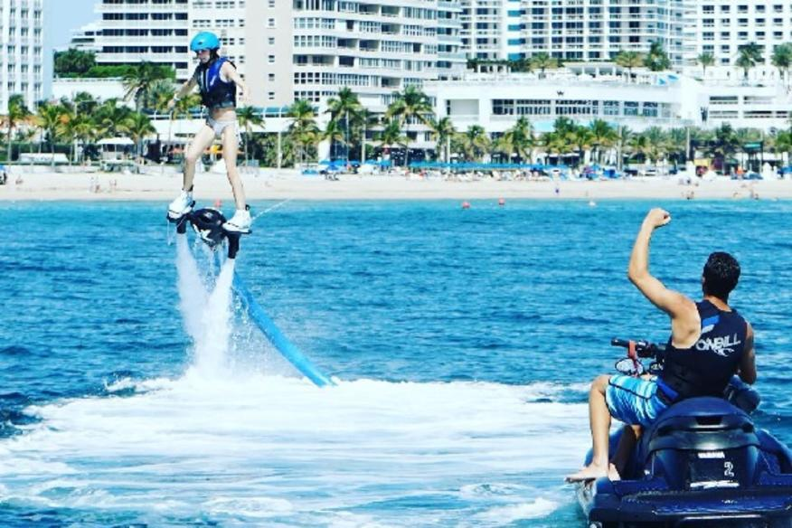 Flyboard Success in the Air