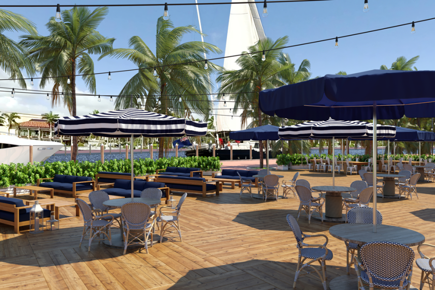 Riverfront Deck at The Wharf Fort Lauderdale
