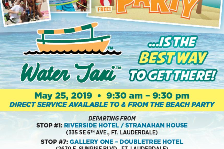 Great American Beach Party May 25th 2019