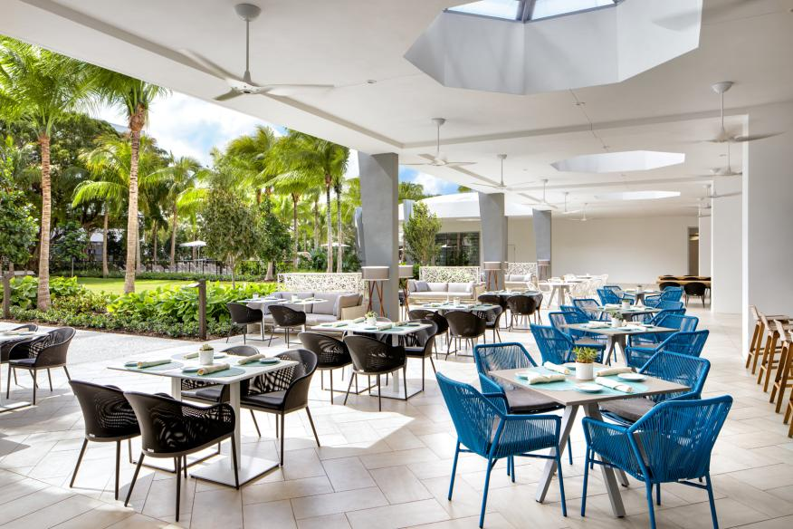 Cabana Restaurant Le Meridien