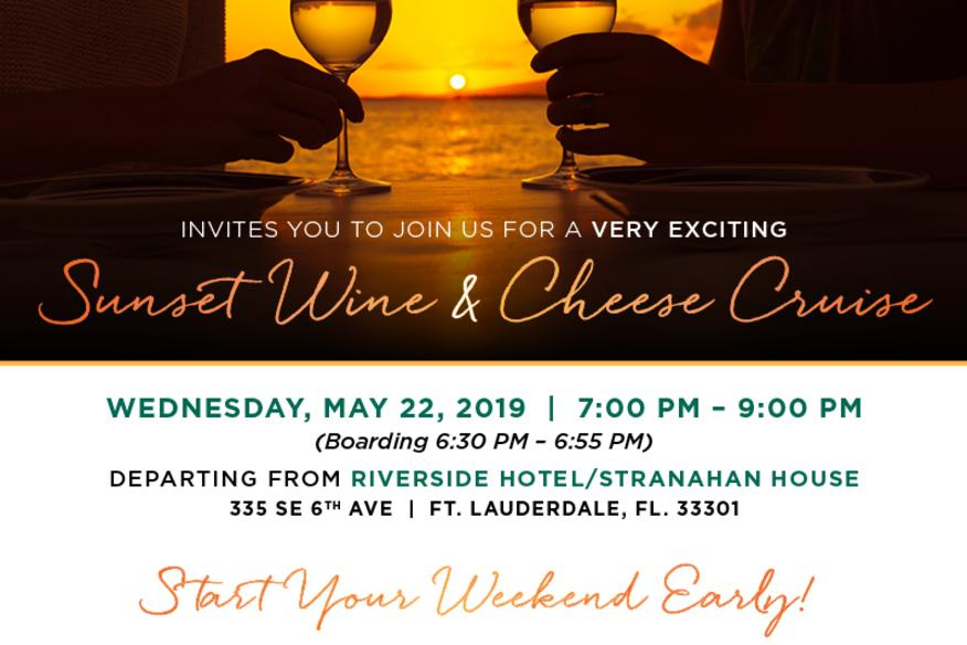 May 22nd Wine & Cheese Tasting Event