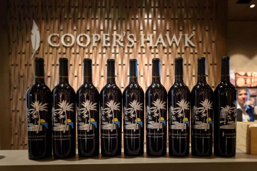 Coopers Hawk Wine