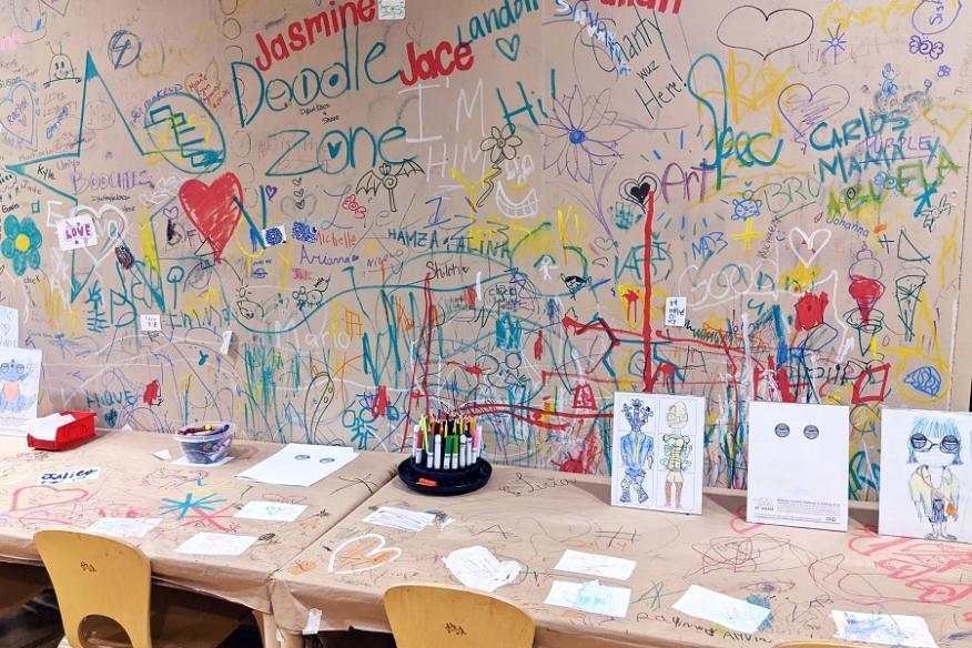YAA Doodle Wall