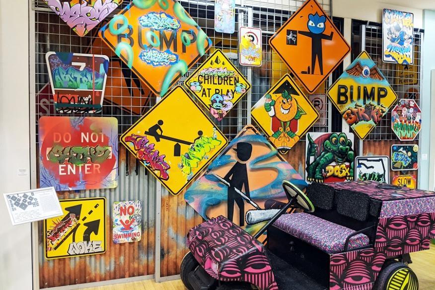 Street Sign Art YAA
