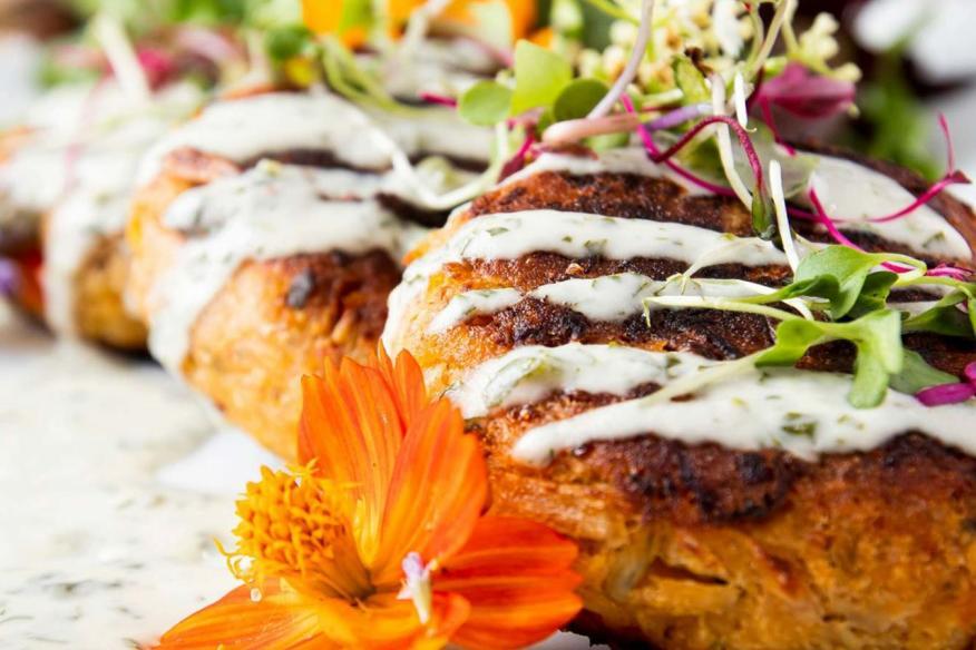 Yello Vegan Palm Cakes