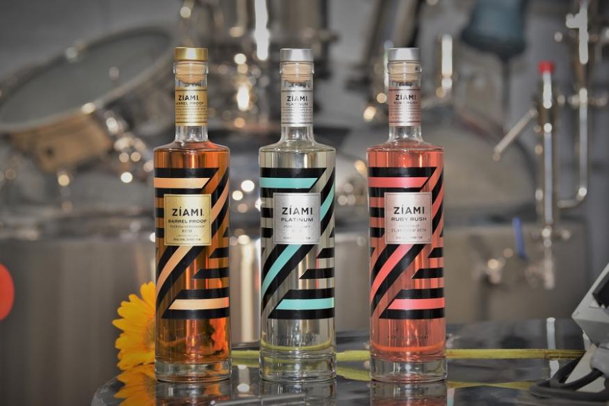 Ziami Rum Bottles