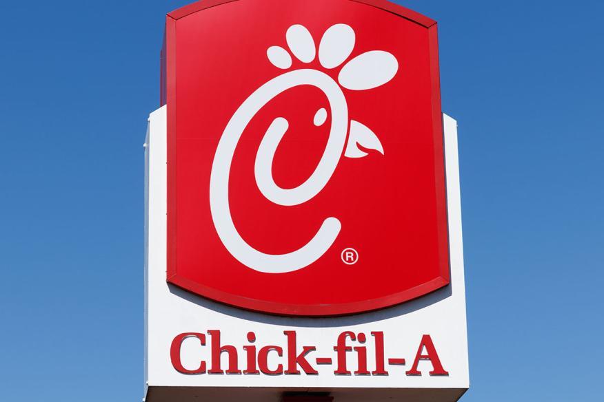 Chick fil-a-sign